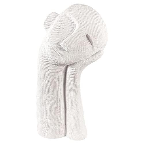 Baoblaze Estatuilla Humana Divertida, Accesorios de Escritorio para decoración de estantes, estatuas de Figuras de Mesa, Decoraciones para estantería de