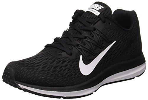 Nike Damen Zoom Winflo 5 Sneakers, Schwarz Black White Anthracite 001, 39 EU