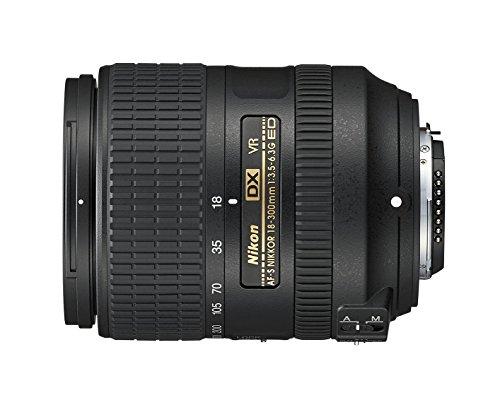 Nikon AF-S DX NIKKOR 18-300mm f/3.5-6.3G ED Vibration Reduction Zoom Lens with Auto Focus for Nikon DSLR Cameras (Renewed)