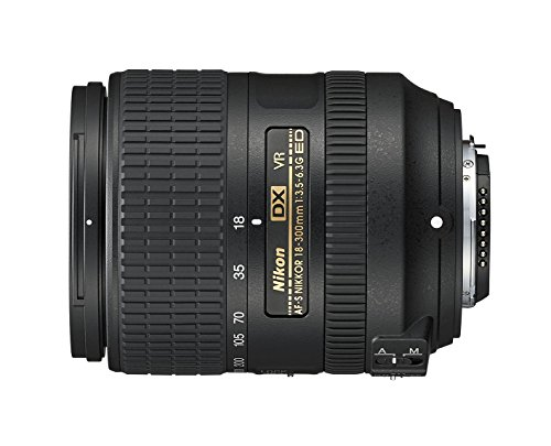 Nikon AF-S DX NIKKOR 18-300mm f/3.5-6.3G ED Vibration Reduction Zoom Lens with Auto Focus for...