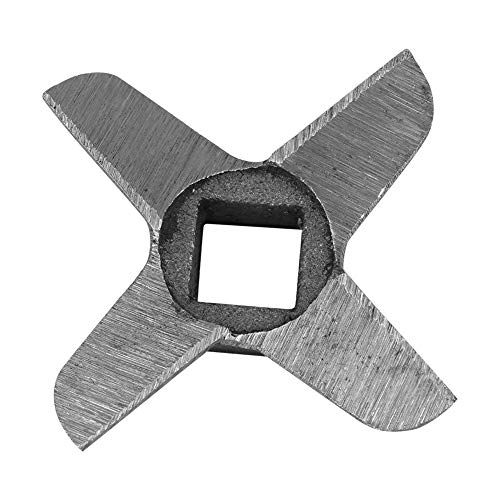 【𝐄𝐚𝐬𝐭𝐞𝐫 𝐏𝐫𝐨𝐦𝐨𝐭𝐢𝐨𝐧】 Grinder Blade, Crosss-shaped Professional Steel Kitchen Food Meat Grinder Blade Mincers Cutter Part(#8) -  Zouminy, Zouminyf80x72rp19-02