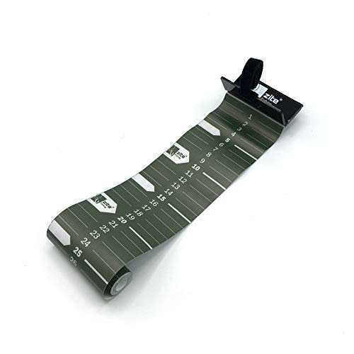 Zite Fishing Fisch-Maßband zum Angeln - Aufrollbar & 120 cm Messskala - Roll-Up Measuring Tape zum Fische Messen