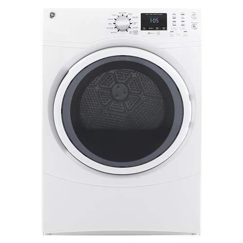 GE GFD43GSSMWW Front Load Gas Dryer, 7.5 Cu. Ft. Capacity, White,