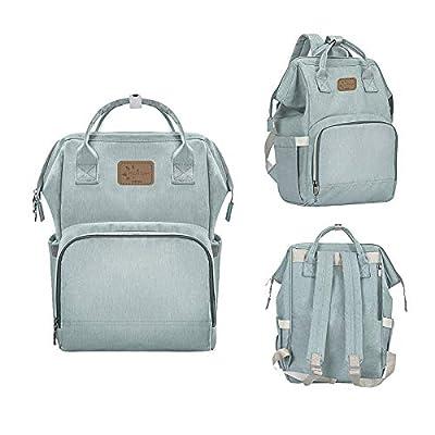 FRUITEAM Diaper Bag Backpack, Large Baby Bag, M...