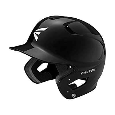 Easton Z5 2.0 Batting Helmet Solid Color Series | Baseball Softball | 2020 | Dual-Density Impact Absorption Foam | High Impact Resistant ABS Shell | Moisture Wicking BioDRI Liner | Removable Logo