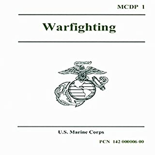 Warfighting audiobook cover art