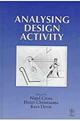 [Analysing Design Activity] (By: Nigel Cross) [published: January, 1997] Relié