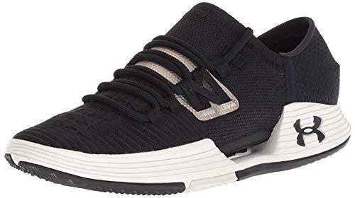 Under Armour Women's Speedform AMP 3 Sneaker, Black (001)/Ivory, 10