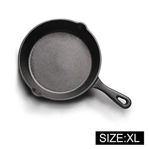 DHXYII Koken panGietijzer Anti-aanbakplaat Koekenpan voor Gas Inductie Cooker Ei Pannenkoek Pot Keuken & Eetgerei Kookgerei 26cm