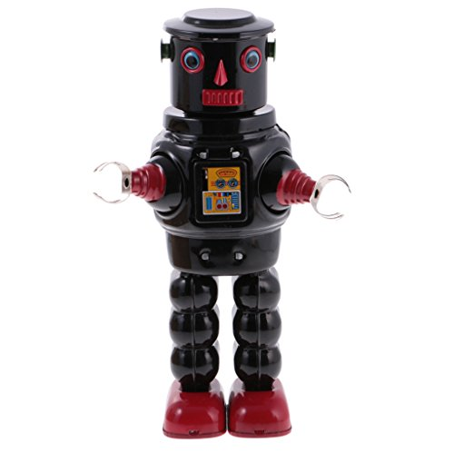 Colcolo Robot Mecánico Mecánico Retro Juguete de Lata de Juguete