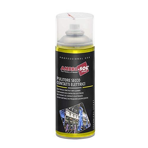 Ambro-Sol M200 Limpiador Seco Contactos Eléctricos, Transparente, 400 Ml