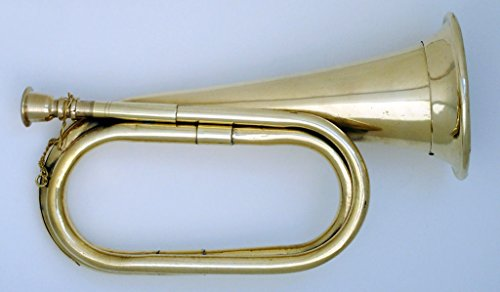 SC EXPORTS Civil War Era Brass Professional Bugle US Military Cavalry Style Horn New
