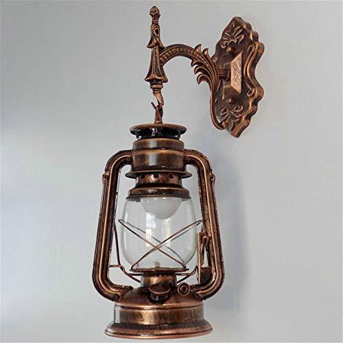 Wandlamp voor binnen en buiten, voor de muur, decoratie van de lantaarn Del Corridoio uit de ladder in retro Navata creatief