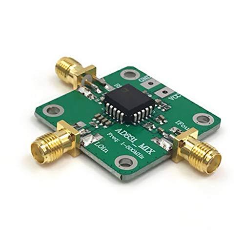 Tree-on-Life AD831 0,1-500 MHz Hochfrequenz-HF-Mischerantrieb Wechselrichter-Verstärkermodulplatine HF-VHF/UHF-HF-Eingang + 10 dBm