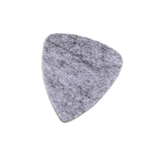 1pc Felt Guitar Plectrum Pick For Ukulele Uke Guitar Instrument Accs - Gray