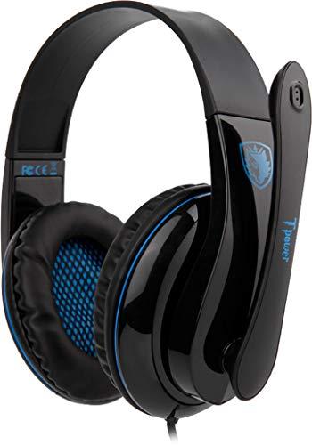 Headset Sades Tpower Fone de Ouvido Gamer P2 Sa-701