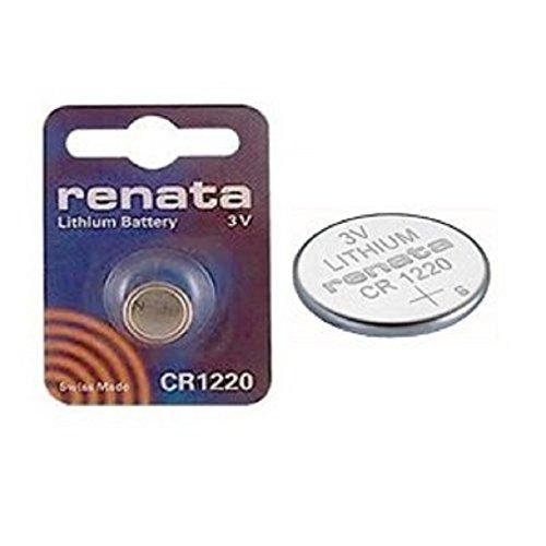 Renata CR1220 3V Lithium Münze Zelle Uhr Batterie DL1220, ECR1220, BR1220 (2 X CR 1220)