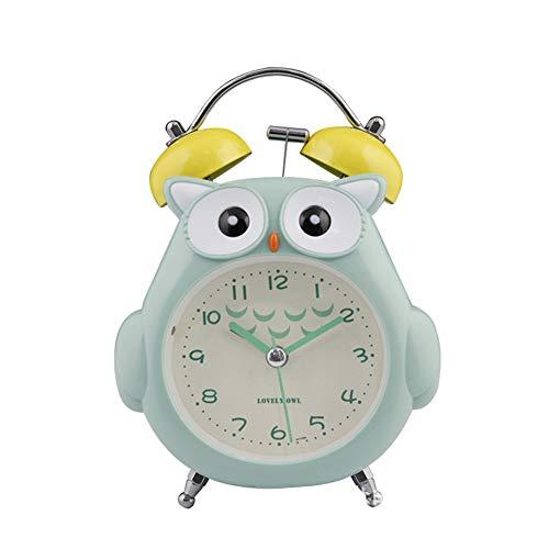 KANKOO wecker Holz projektionswecker LED Uhr Wecker am Bett Projektionswecker digitaler Radiowecker Radiowecker betupfen Bad Uhr Tischuhr Digitaluhren Nacht Green