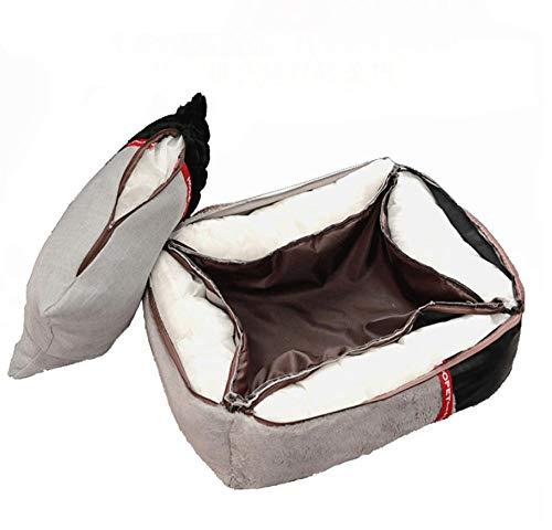 Pet Nest Kennelpet Cat Bed Puppy Dog Mat Winter Kennel Warm Nest Padded Sofa Slaapzak House 75 * 60 * 19Cm