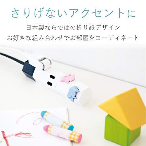 エレコムコンセントキャップカバーホコリ防止いたずらによる感電防止引っ張っても簡単に抜けない安全設計ウサギピンクT-CAPKAKU2