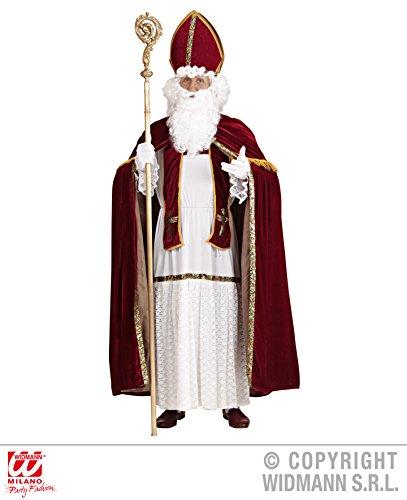 Saint-nicolas-de nikolauskostüm bischofskostüm déguisement-costume de taille l/xL-christmas-decorations costume de père noël
