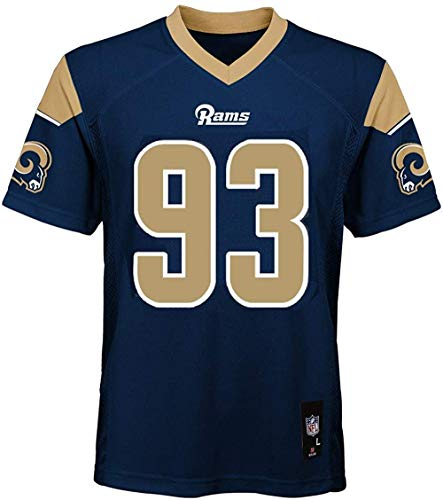 Ndamukong Suh Los Angeles Rams NFL Youth 8-20 Navy Home Mid-Tier Jersey (Youth Medium 10-12)