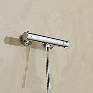 Hlluya Professional Sink Mixer Tap Kitchen Faucet Shower Faucet Thermostatic Solar Electric Water Heater Water Mixing Valve Thermostatic Valve Shower Faucet,