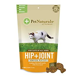 Pet Naturals® – Hip + Joint for Cats, Daily Hip & Joint Support Supplement, 30 Chews