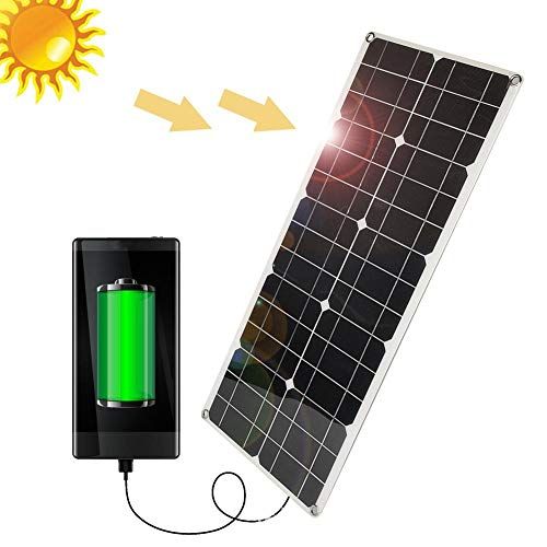 Zonnepaneel, 50W waterdicht zonnepaneel voor autolader buitenbatterij