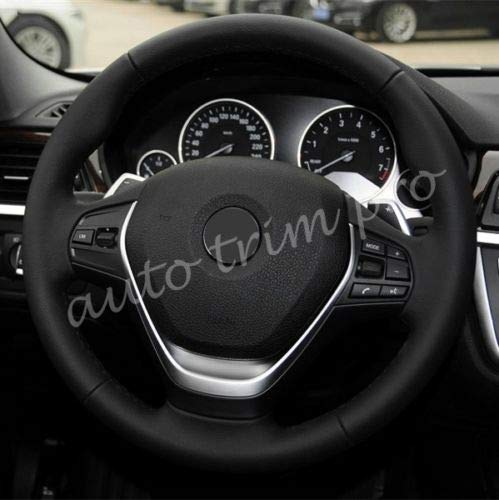 Chrome Parts Steering Wheel Matte Cover Trim Fit For Bmw F20 F21 F30 F31 114 118 116 F30 F31 316 318 320 Accessories Decorate