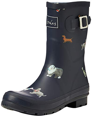 Tom Joule Damen Molly Welly Gummistiefel, Blau (MayDay Dogs Maydaydogs), 39 EU