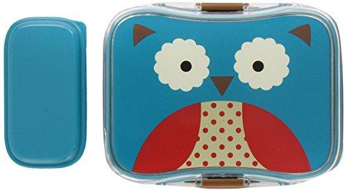 Skip Hop Zoo Owl - Fiambrera y recipiente interior con tapa