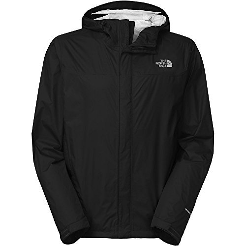 The North Face Men's Venture Jacket, TNF Black/TNF Black, Large