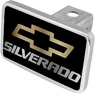 Eurosport Daytona - Compatible with Chevy Silverado Hitch Cover
