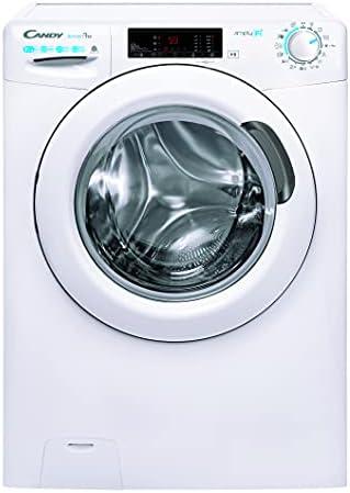 Candy - Smart Pro CSOW 4965TWE/1-S, Lavadora secadora 9 + 6 kg, 7 programas rápidos, WiFi, Bluetooth, Vapor, Certificado lana, 1400 rpm, Blanco