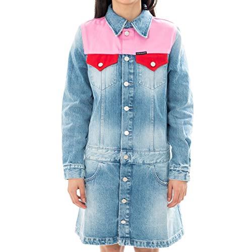 Calvin Klein Vestito Donna Western Trucker Dress J20J209913.911 (S - 911 MOHONK Light Pink)