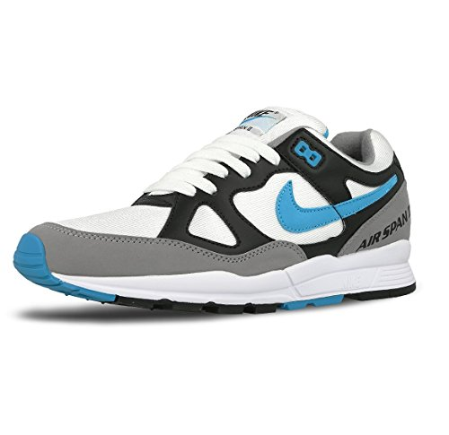 Nike Air Span 2 Mens Fashion-Sneakers AH8047-001_11 - Black/Dust/White/Laser Blue
