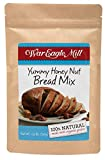 War Eagle Mill Yummy Honey Bread Mix (1.25lb), 100% natural, for hand baking or bread machine. Enjoy the honey, pecan and cinnamon flavors!