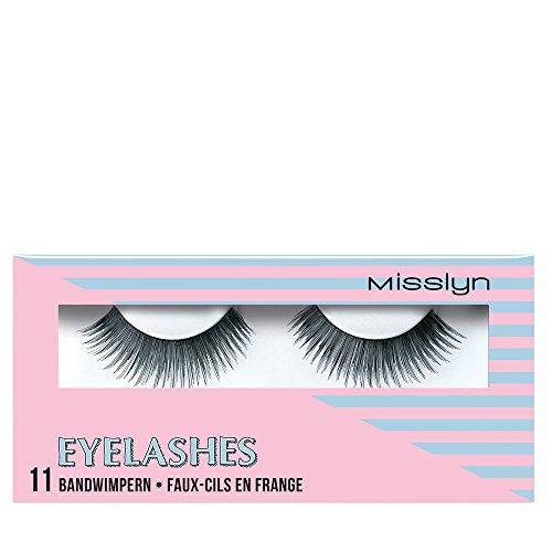 Misslyn Eyelashes Nr.11 EYE need glamour, 1 Stück