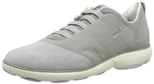 Geox D NEBULA C, Damen Sneakers, Grau (LT GREYC1010), 37 EU