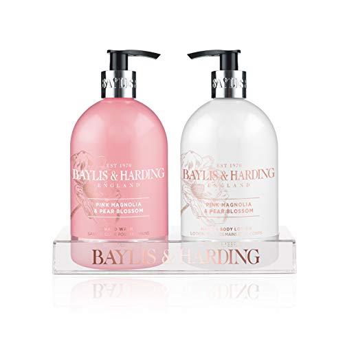 Baylis & Harding magnolia rosa e pera Blossom Bottle set–Confezione da 2