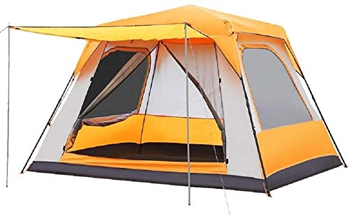 YAYY 5-6Person Pop up Tent Lichtgewicht Automatische Draagbare Tent Backpacking Tent Waterafstotende Sun Shelter voor Outdoor Indoor Familie Camping Picnic Beach(Upgrade)