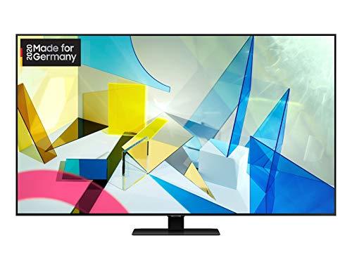 Samsung QLED 4K Q80T 123 cm (49 Zoll) (Quantum Prozessor 4K, Direct Full Array, Quantum HDR 1000) [Modelljahr 2020]