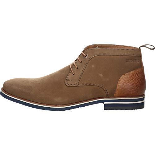 Salamander Men's VALARIO Desert Boots, Brown Biscotto 14, 12