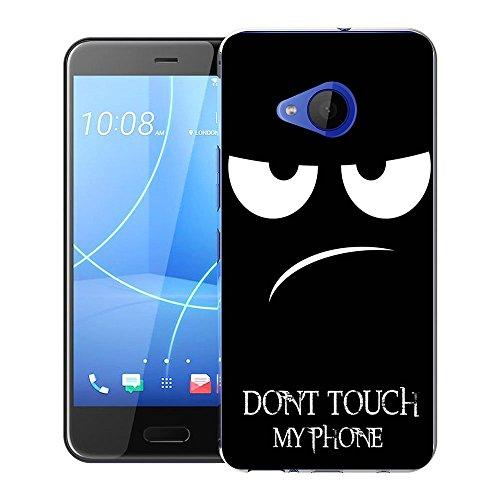 HTC U11 Life Tasche, FoneExpert® Ultra dünn TPU Gel Hülle Silikon Hülle Cover Hüllen Schutzhülle Für HTC U11 Life