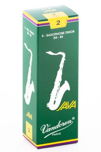 Vandoren SR272 - Caja de 5 cañas para saxofón tenor