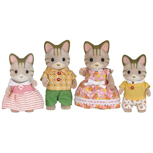 Sylvanian Families 5180 Tigerkatzen Familie - Figuren für Puppenhaus