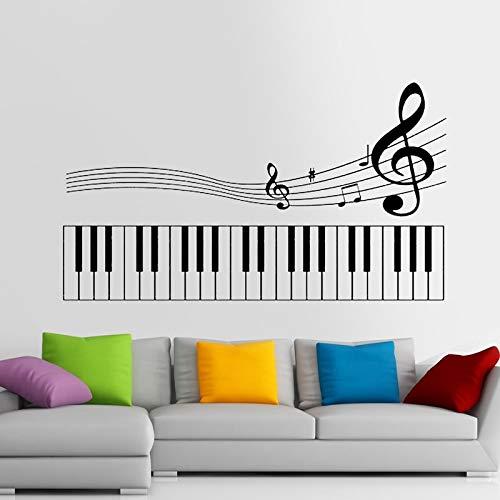 Tianpengyuanshuai Piano Party Muursticker Rock Auto Naam Home Decoratie Mural Band Sticker