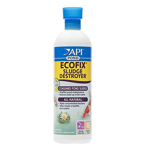Price comparison product image API POND ECOFIX SLUDGE DESTROYER Bacterial cleaner,  Pond Water Clarifier and Sludge Remover Treatment 16-Ounce Bottle