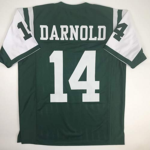 Unsigned Sam Darnold New York Green Custom Stitched Football Jersey Size XL New No Brands/Logos